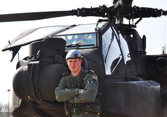 Pangeran Harry Pilot Tempur Heli Apache Yang Pernah Jadi Incaran  Teroris  di Irak dan  Afghanistan