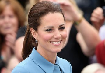 Anggun dan Santun, Ternyata Ini Perancang Busana Kate Middleton di Pernikahan Harry-Meghan
