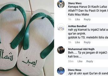 Ini Makna Sebenarnya dari Lafal Arab yang Tertulis di Sepasang Sandal yang Viral di Media Sosial Menurut Kamus Al-Munawwir