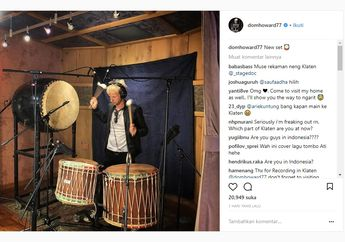 Bikin Heboh! Drummer Muse, Dom Howard Main Bedug di Klaten, Indonesia