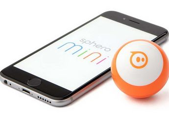 Sphero Mini App-Enabled Robotic Ball:  Robot Bola yang Bisa Diprogram