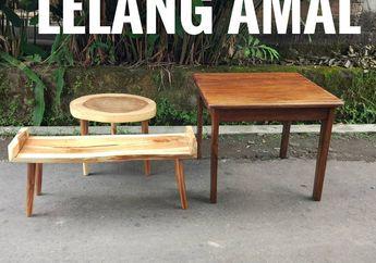Unik dan Menarik Bikin Lelang Furnitur @Sebat_Project Ramai Dinanti