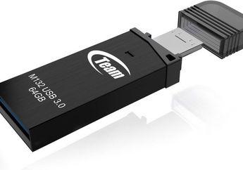 Team Group M132 64 GB: Flash Disk dengan micro-USB dan USB Standar-A