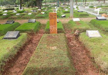 Belum Terpasang Batu Nisan, Begini Kondisi 7 Hari Makam Adara Taista