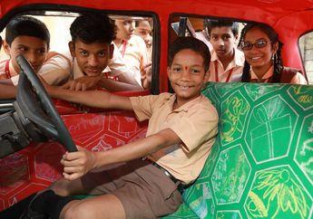 Taksi Berdesain Unik Ini Ada di India, Namanya adalah Taxi Fabric