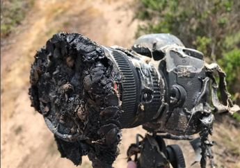 Risiko Mengambil Gambar di Lokasi Peluncuran Roket: Kamera Meleleh