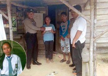 Tak Mampu Bayar SPP Siswi SMA di Riau Ini Dilarang Ikut Ujian, Pak Polisi pun Datang Beri Bantuan
