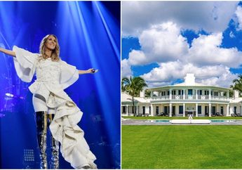 Pantas Ruang Tunggu Harus Berwarna Putih, Ternyata Ini Megahnya Rumah Celine Dion Senilai Rp 543 Miliar