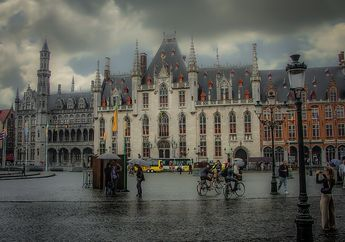 Dijuluki Sebagai Venesia dari Utara, Inilah Kota Bruges yang Indah