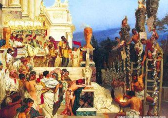 Seperti Ini Inilah Pesta-pesta Hedon Zaman Dulu, Sakral tapi Penuh 'Kemesuman'