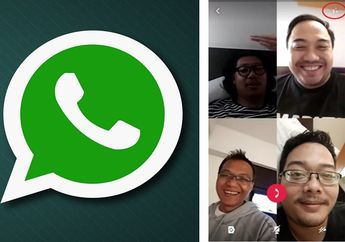 Cocok Buat Kamu yang Tidak Mudik Lebaran Ini, Begini Cara Lakukan Video Call Berempat di WhatsApp