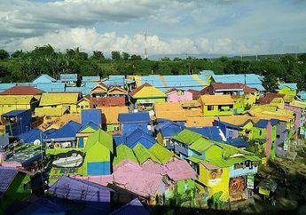 Jodipan, Kampung Warna-warni yang Membuat Liburan Kita Berwarna