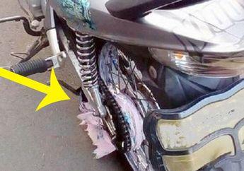 Kecelakaan Motor Terjadi Karena Baju Gamis, Perhatian Ini Biar Aman