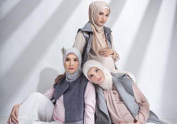 Demi Maternity Shoot Bareng Zaskia Mecca dan Shireen, Zee Zee Shahab Rela Pakai Bantal