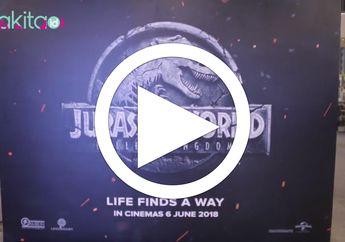 [VIDEO] PREMIERE FILM JURASSIC WORLD: Fallen Kingdom, Ini Keseruannya!