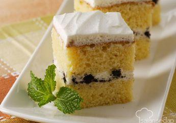 Enggak Bakal Ada Yang Lolos Dari Godaan Cake Vanila Dan Oreo Yang Lembut Dan Manis Ini