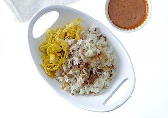 Sarapan Kenyang dan Lezat Besok Pagi dengan Nasi Uduk Ayam Suwir, Endes Banget!