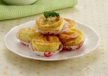 Untuk Menu Sarapan Besok, Sulap Kentang Jadi Potato And Cheese Cup
