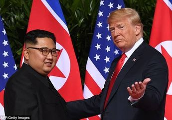 Ini Kata Pakar Bahasa Tubuh Saat Membaca Gestur Donald Trump dan Kim Jong Un