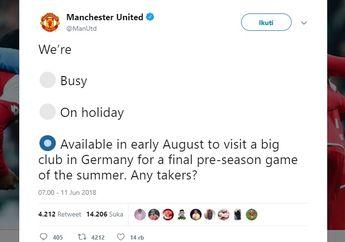Kocak! Tim-Tim Bundesliga Ini  Nge-Troll Manchester United di Twitter