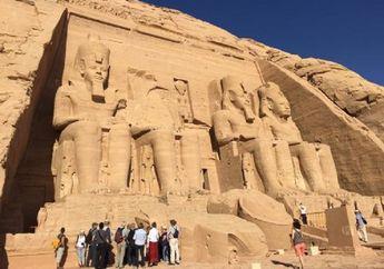 Inilah Abu Simbel: Kuil Agung dari Masa Firaun Ramses II yang 'Bergerak'