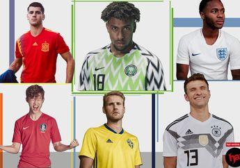 7 Jersey Piala Dunia 2018 Paling Hypebeast, Bisa Buat Malam Mingguan!