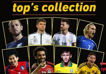 Siapa Calon Top Skorer Piala Dunia 2018? Ini Prediksi dan Jawabannya
