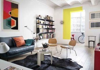 Colorful dan Bikin Ceria! Cantiknya Rumah Warna-Warni di Barcelona!