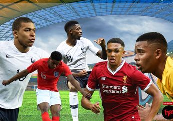 7 Wonderkid yang Bakal Jadi Pusat Perhatian di Piala Dunia 2018
