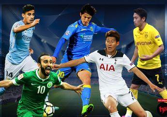 Ini 5 Pesepakbola Asia yang Bakal Bersinar di Piala Dunia 2018