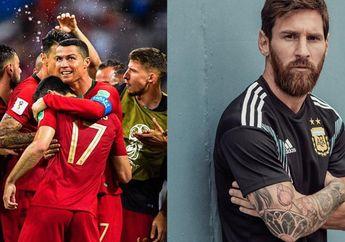 Awal Piala Dunia 2018, Messi Versus Ronaldo Lebih Hebat Siapa?