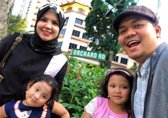 Libur Lebaran, Presenter Indra Bekti Alami Kejadian Lucu di Singapura