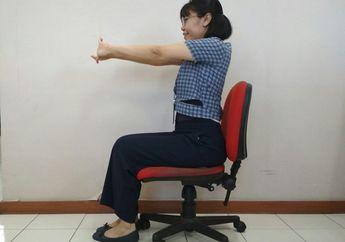 Walaupun Sambil Duduk, Kita Bisa Lakukan 5 Gerakan Ini untuk Olahraga