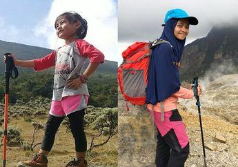 Salut! Dua Pendaki Perempuan Cilik Asal Indonesia Sukses Bikin Indonesia Bangga