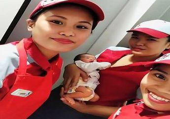 Bayi Malang Dibuang di Luar Resto, Wanita Baik Hati Lakukan Tindakan Tak Terduga