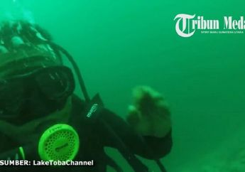 Disebut Danau Terdalam Kedua di Indonesia, Inilah Rekaman Video Dasar Danau Toba