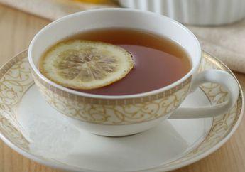 Hangatnya Ginger Tea Lemon Ini Buat Suasana Malam di Rumah Jadi Ikutan Hangat