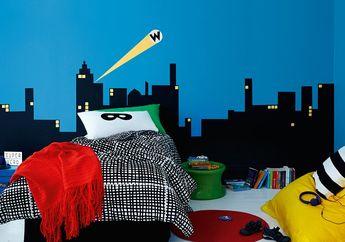 3 Ide Desain Kamar Tidur Anak Bertema Superhero,  Bikin Betah