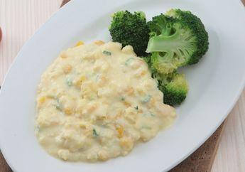 Corn Scrambled Egg, Pilihan Menu Sarapan Sehat dengan 6 Bahan Saja