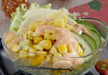 Salad Jagung Nanas, Menu Sarapan Lezat untuk yang Sedang Diet