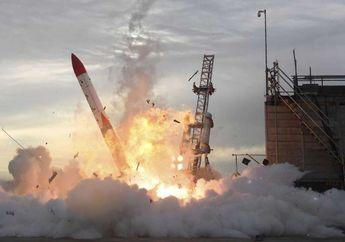 Video: Roket Jepang Gagal Meluncur dan Jatuh Dalam Hitungan Detik
