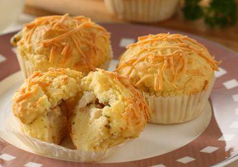 Mari, Bikin Sarapan Di Akhir Pekan Jadi Spesial dengan Chicken Mushroom Cheese Muffin Ini