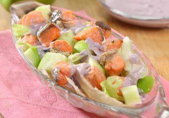 Hari Libur Saatnya Sarapan Cantik Dengan  Resep Salmon Salad Sehat Ini