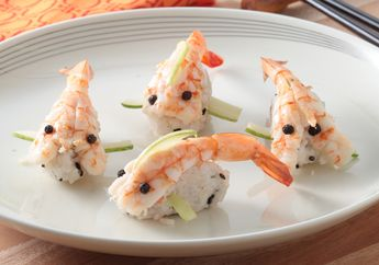 Wow, Sushi Bentuk Ikan Ini Pasti Buat Si Kecil Semangat Sarapan Besok