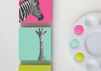 Melatih Anak Berkreatifitas dengan Membuat DIY Animal Decoration