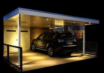 Ingin Bikin Carport Lebih Menarik? Coba Beri Pencahayaan Seperti Ini!