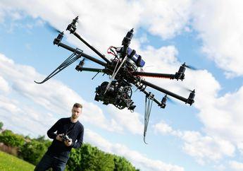 Tidak Banyak yang Tahu, Ternyata Menerbangkan Drone di Jakarta Tidak Boleh, Ini Penjelasannya...