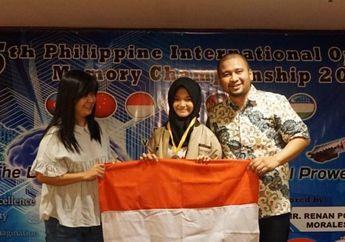 Pelajar Indonesia Ini Menang Kompetisi Daya Ingat di Filipina