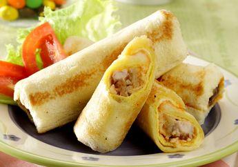 Repot di Pagi Hari, Andalkan Resep Mudah & Praktis Sandwich Gulung Ayam