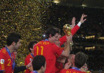 Mengenang Spanyol yang Jadi Juara Piala Dunia, Hari Ini 8 Tahun Lalu